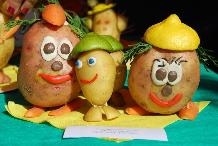 Фото поделка из картошки своими руками фото